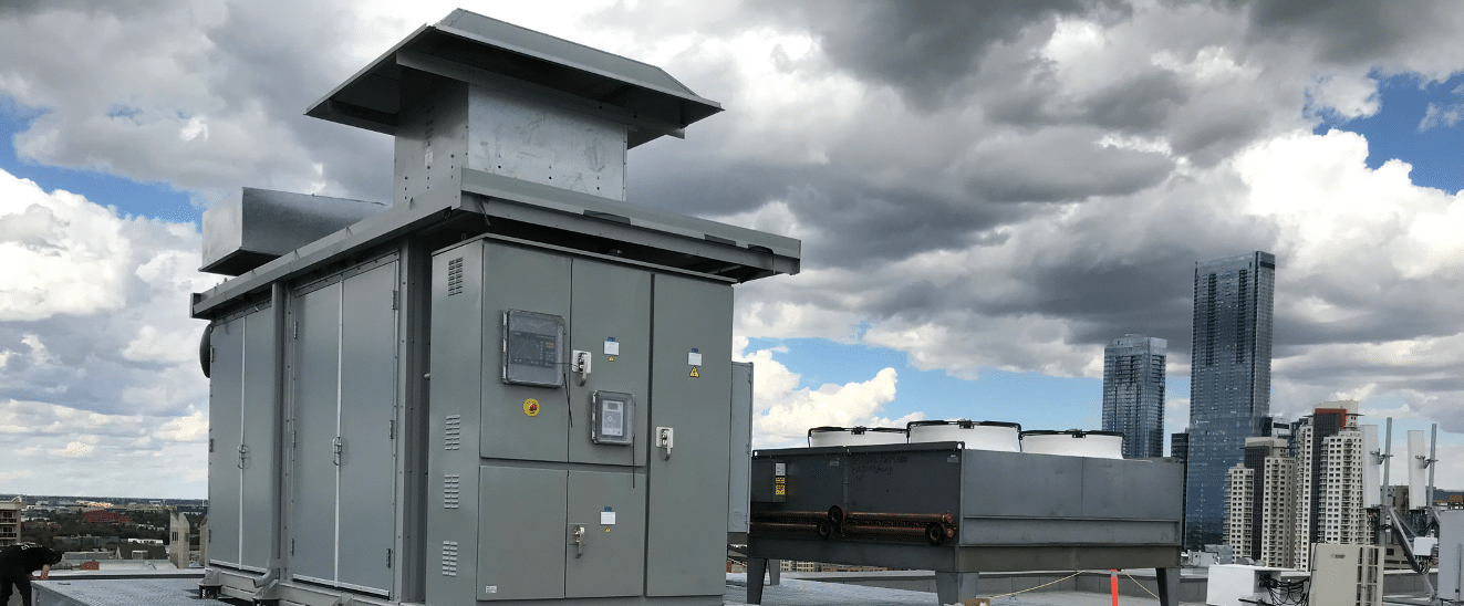 Commercial Combined Heat and Power System